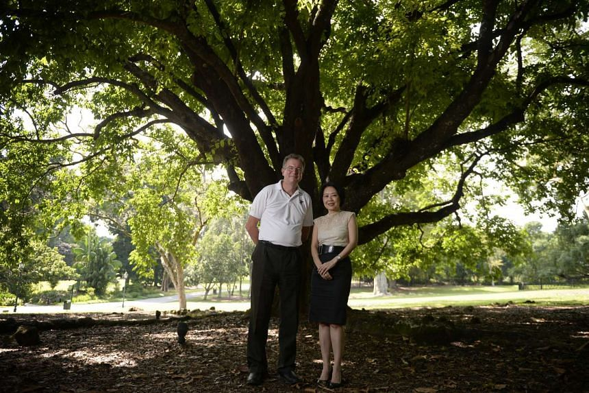 Dr Nigel Taylor, director of the Singapore Botanic Gardens, and Ms Jean Wee, director of the Preservation of Sites and Monuments at the National Heritage Board, played key roles in the World Heritage Site bid.