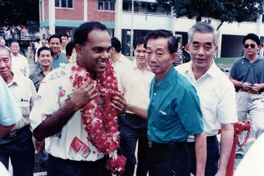 Mr Shanmugam was fielded, at age 29, in the Chong Pang ward – a very Chinese, lower- middle-class ward, then a part of Sembawang GRC – where he has served since.