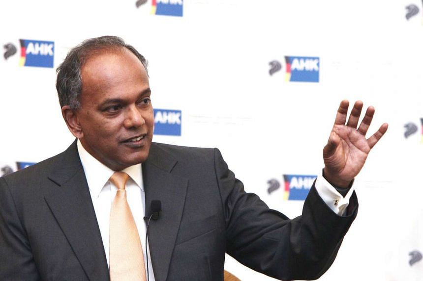 Humanity's tendency to fall back on the familiar, and identify with common factors like race and language, is one reason GRCs must stay, says Mr Shanmugam.