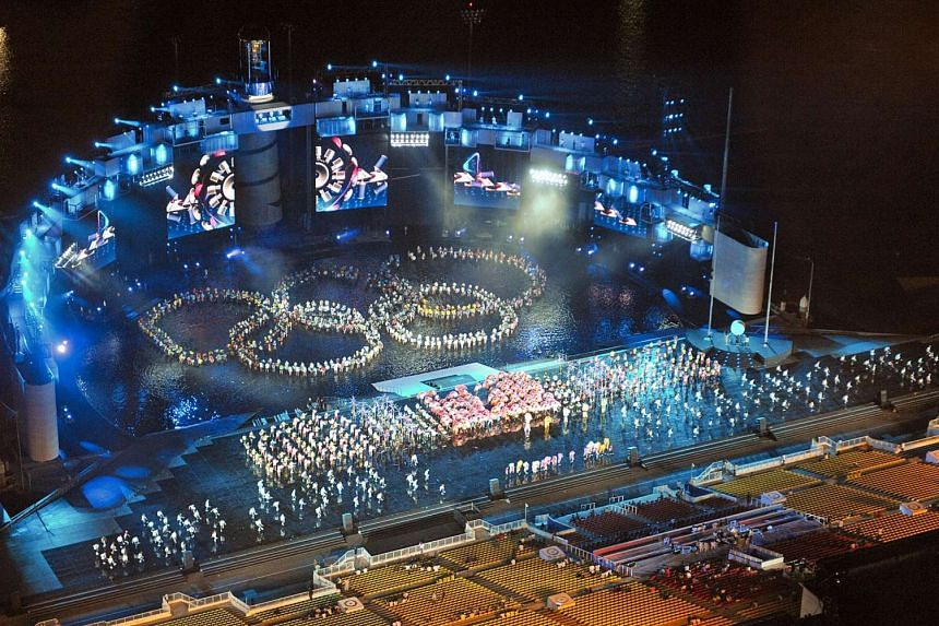 Preparations for the inaugural Youth Olympic Games which put Singapore firmly under the world sporting spotlight in 2010.