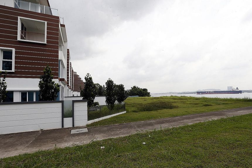The eight bungalows on 99-year lease which, according to ERA Real Estate, which markets the project, are the only private properties on mainland Singapore that sit less than 50m from the sea.