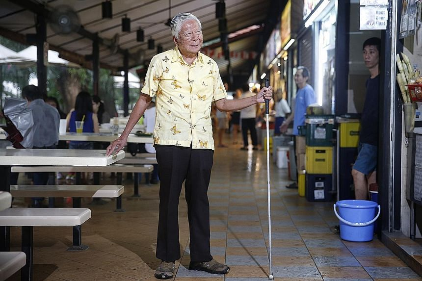 Mr Tan Guan Heng, who is blind, shares his perception of Singapore's progress through the years.
