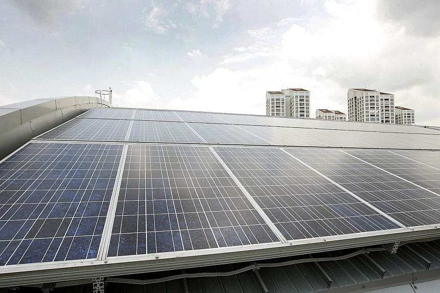 Solar energy has become a commercially feasible source of clean and sustainable energy for Singapore, especially for large-scale installations which enjoy economies of scale.
