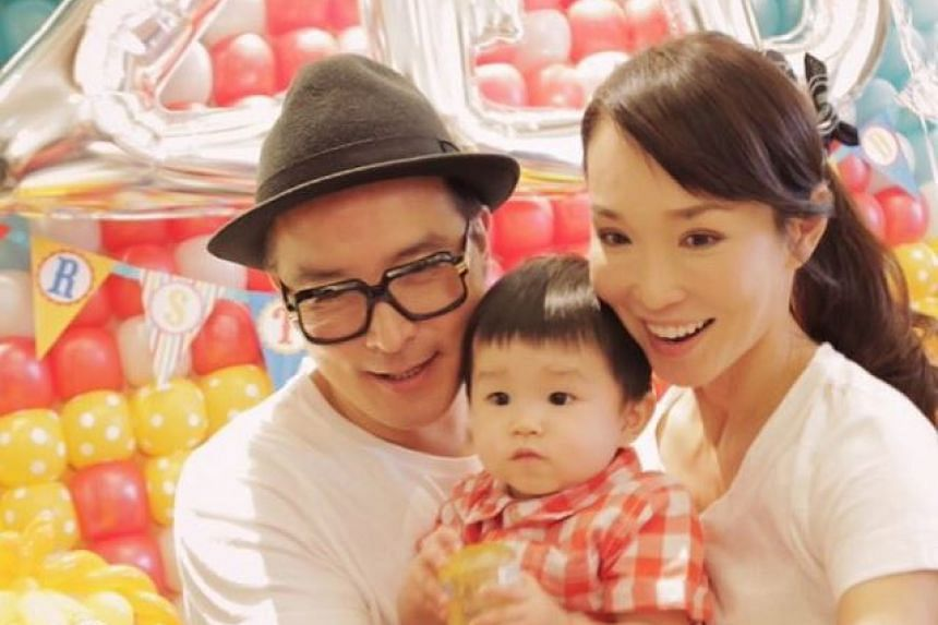 Local celebrities Fann Wong and Christopher Lee threw a birthday party for their son Zed, who turned one on National Day, Aug 9, 2015.