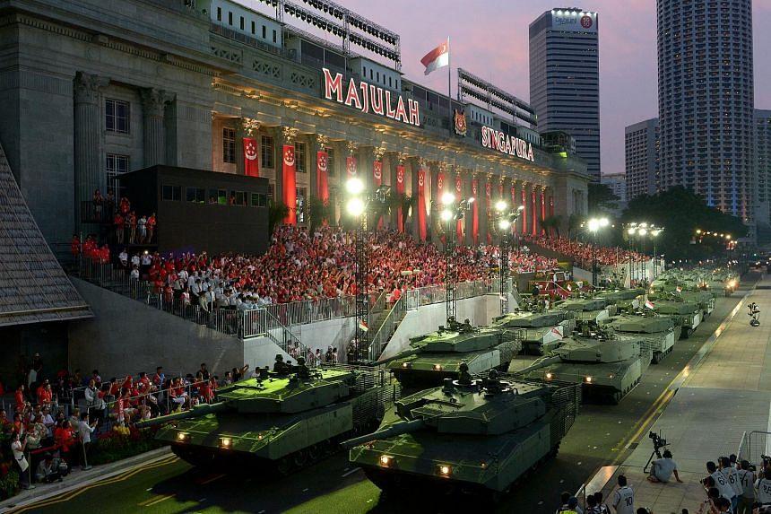 SG50 National Day Parade 2015 at the Padang.