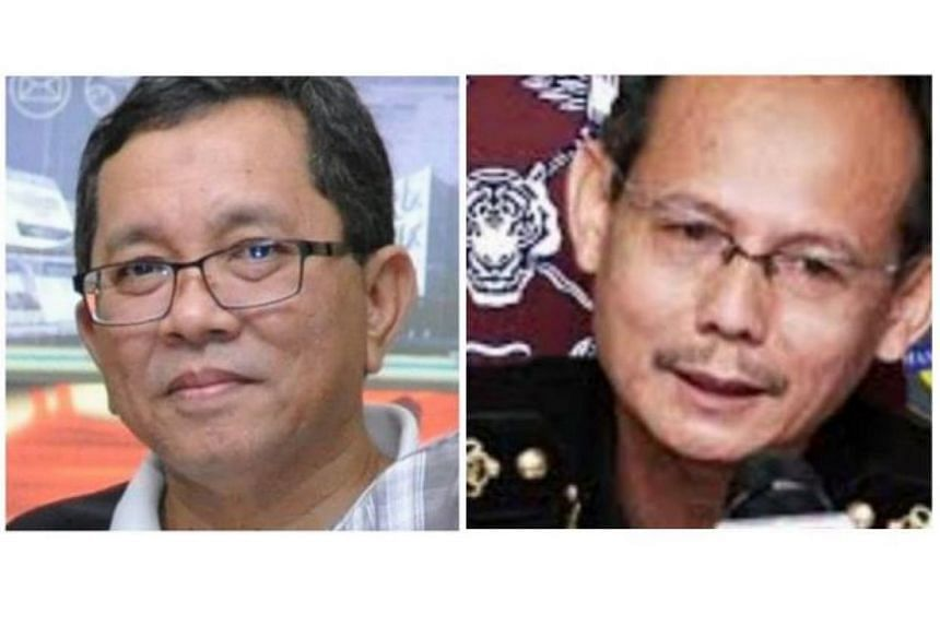 Rohaizad Yaakob (left) and Bahri Mohamad Zin will not be transferred to the Prime Minister's Department (PMD), according to an MACC source.
