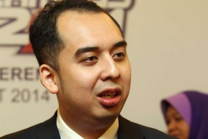 Mr Mohd Nazifuddin Najib (above), the son of Malaysian Prime Minister Najib Razak, said that the constant attacks on his father will adversely the country.