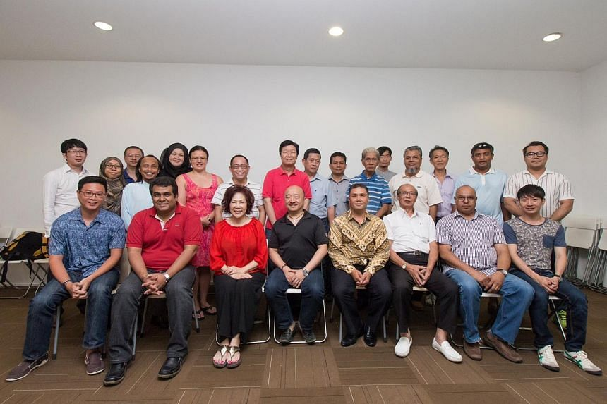 SPP and DPP members at a get together on Aug 10, 2015.