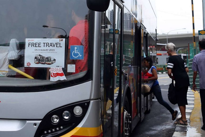 It was a day of celebration for commuters as travel on public transport was on the house.