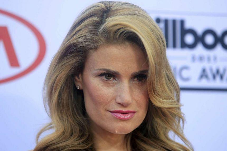 Singer Idina Menzel.