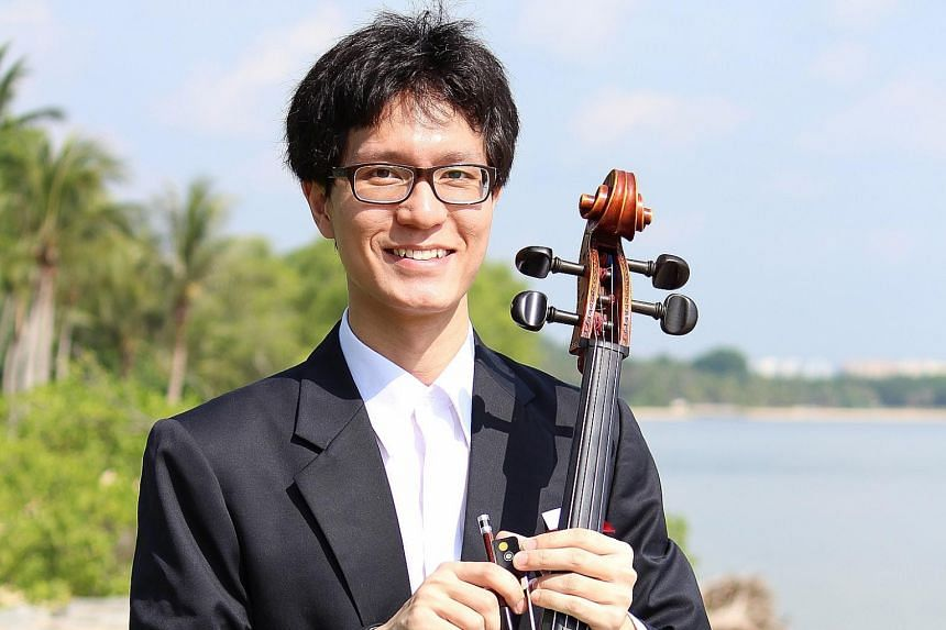 Theophilus Tan's dream is to perform at the Esplanade with the Singapore Symphony Orchestra.