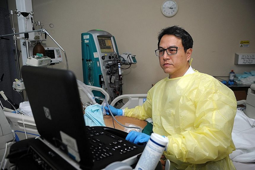 "Dr Jonathan Tan, a senior consultant at Tan Tock Seng Hospital, relishes being a ""multi-organ, multi-system"" specialist."