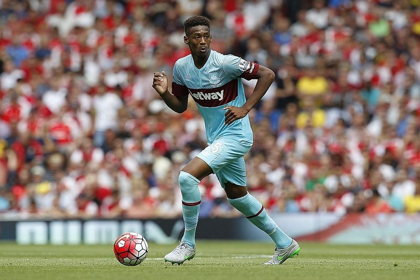 West Ham's Reece Oxford was rejected by Tottenham before signing up with the Hammers.