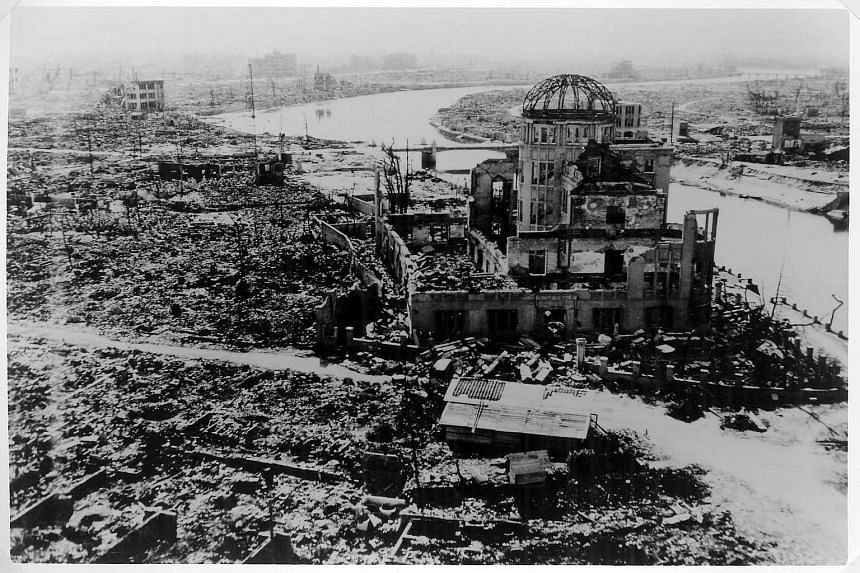 The US atomic bombing of Hiroshima on Aug 6, 1945 killed tens of thousands of people in seconds. By the end of the year, 140,000 people had died from the effects of the bomb.