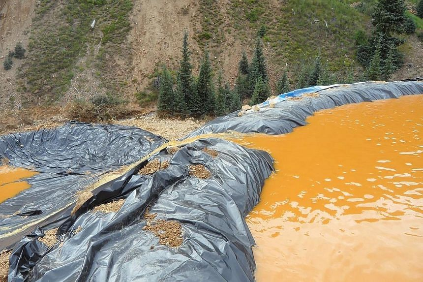 Workers from the US Environmental Protection Agency (EPA) have accidentally triggered a massive release of toxic waste from an old gold mine that sent about 11 million litres of polluted water into a Colorado river, turning it orange. The spill began