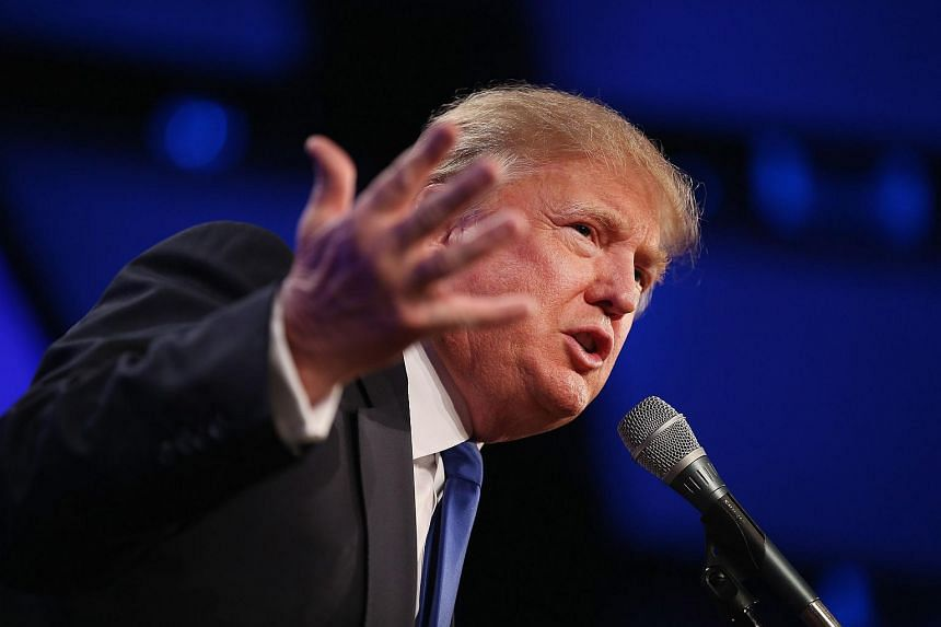 Republican presidential candidate Donald Trump has frequently spoken about issues in China related to the United States.