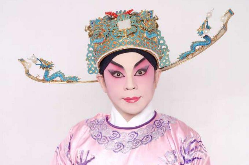 Cantonese opera singer Philip Chan.