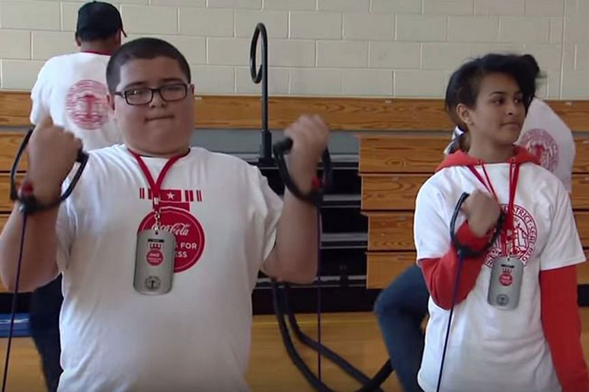 In recent years, Coca-Cola has donated money to build fitness centres in schools across the US. When Chicago's City Council proposed a soda tax in 2012 to help address its obesity problem, Coke donated US$3 million (S$4 million) to establish fitness