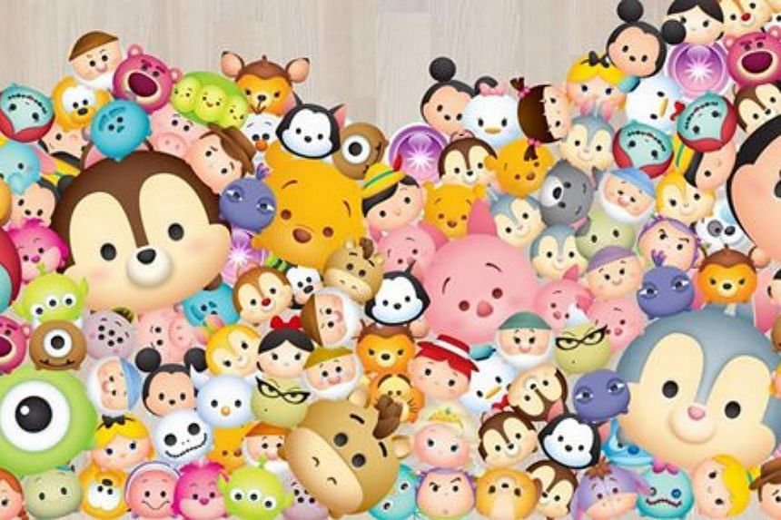 Disney mobile game, Tsum Tsum.