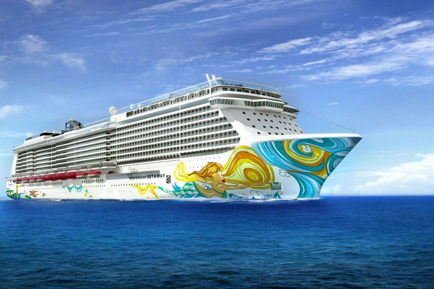 Norwegian Cruise Line introduced the Norwegian Getaway (pictured) to its fleet in January 2014.