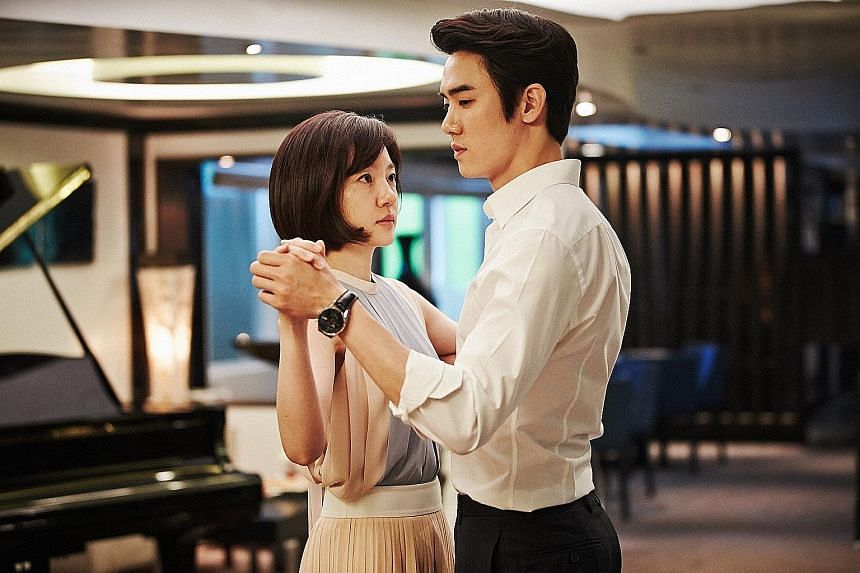 Korean actress Lim Soo Jung and actor Yoo Yeon Seok star in the movie Perfect Proposal.