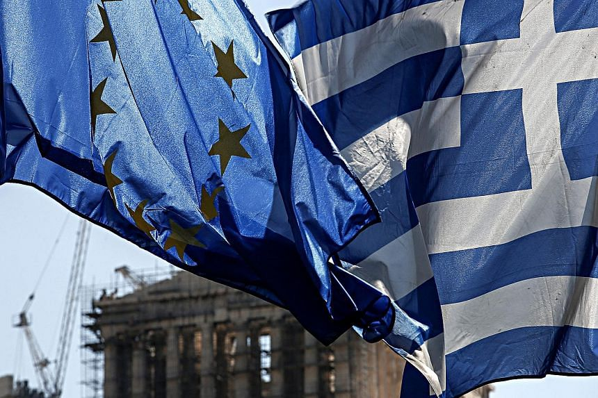 The Greek banking index surged 6 per cent on news of the bailout pact. Greek officials expect the accord to be ratified by Parliament today or tomorrow.