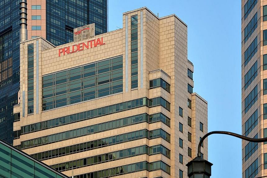 The Prudential Tower in Cecil Street. In Asia, Prudential is focused on meeting the protection and savings needs of the growing middle classes through its agency force and bank partnerships, says group chief executive Mike Wells.