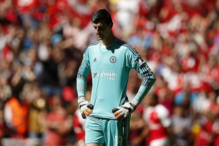Goalkeeper Thibaut Courtois will miss Chelsea's trip to English Premier League title rivals Manchester City on Sunday after the English Football Association yesterday upheld his dismissal against Swansea City.