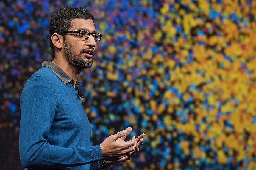 """Google's new chief executive, Mr Sundar Pichai, is said to have """"a talent for creating products that are technically excellent yet easy to use""""."""