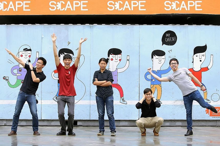 Mr Thomas Wong, founder of data analytics company ORT Solutions (squatting with the Thinges app team) hopes to create a community space at HubQuarters on the fourth floor of Scape for start-up industry folks to interact, network and exchange ideas.