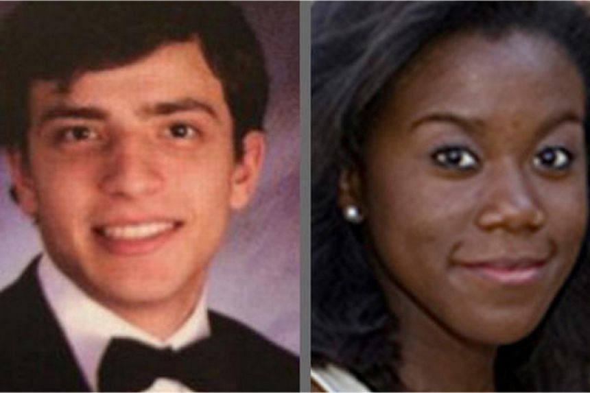 Muhammad Oda Dakhlalla, 22, and Jaelyn Delshaun Young, 20, as seen in their high school yearbook photos: