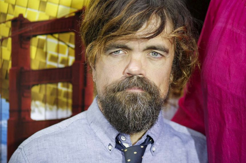 Actor Peter Dinklage at the premiere of the movie Pixels in New York on July 18.
