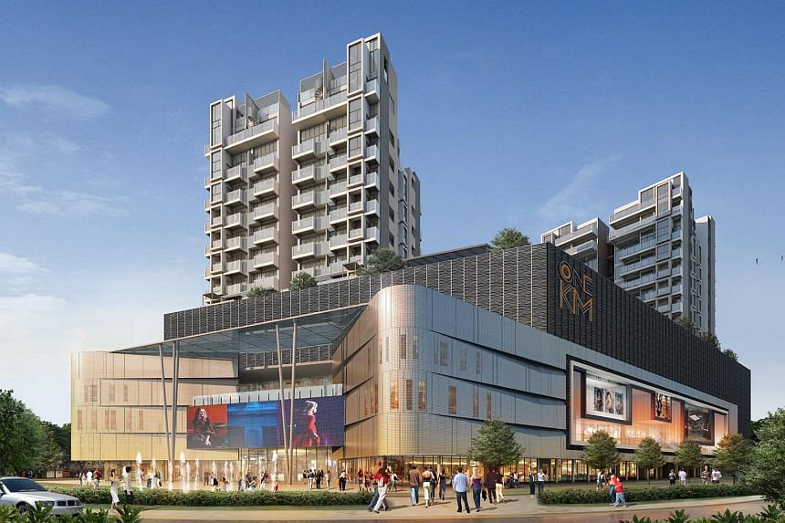 UOL Group reported a 28 per cent decline in second quarter earnings, despite contributions from freehold project Katong Regency (artist's impression pictured) boosting core earnings.