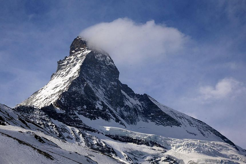 The Matterhorn, which lies on the border of Switzerland and Italy, attracts around 3,000 climbers per year.