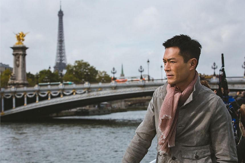 Louis Koo in Paris Holiday.