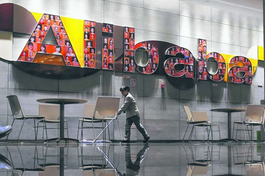 Alibaba's market value has plunged US$100 billion amid a weakening Chinese economy.