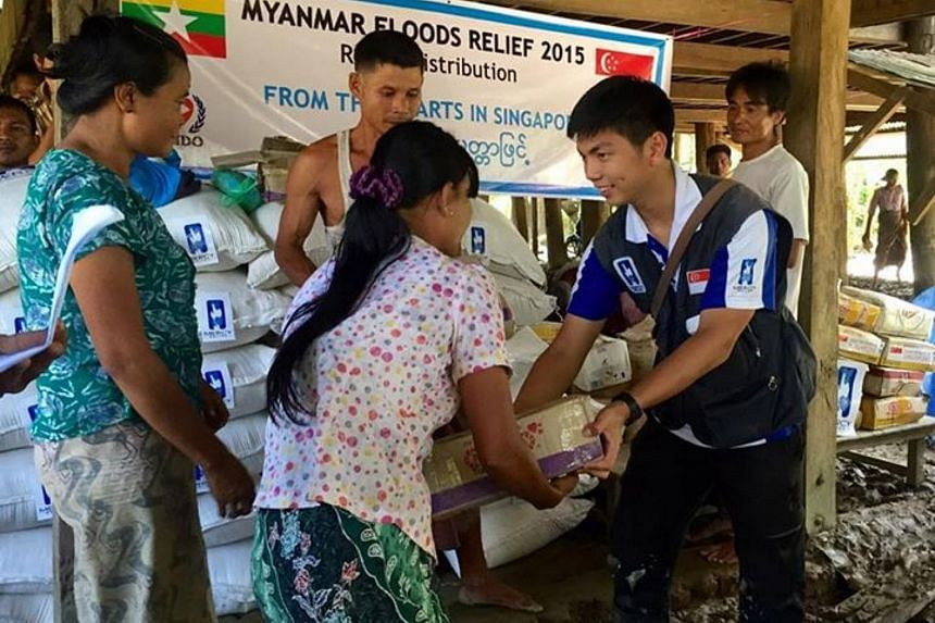 Mercy Relief personnel arrived in War Taung Village to conduct its first Relief Distribution Operation (RDO).