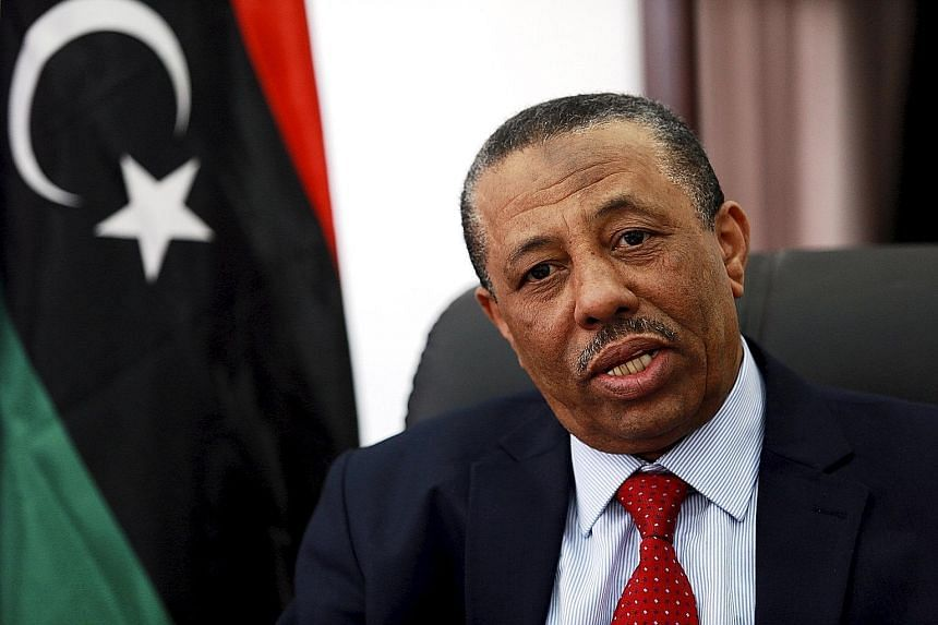 While being interviewed on TV on Tuesday, Libya's Prime Minister Abdullah al-Thani faced angry questions from citizens who held his government responsible for the lack of basic services, such as poor security.