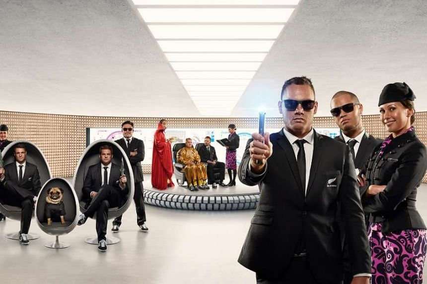 Air New Zealand's newest safety video is inspired by the film franchise Men In Black.