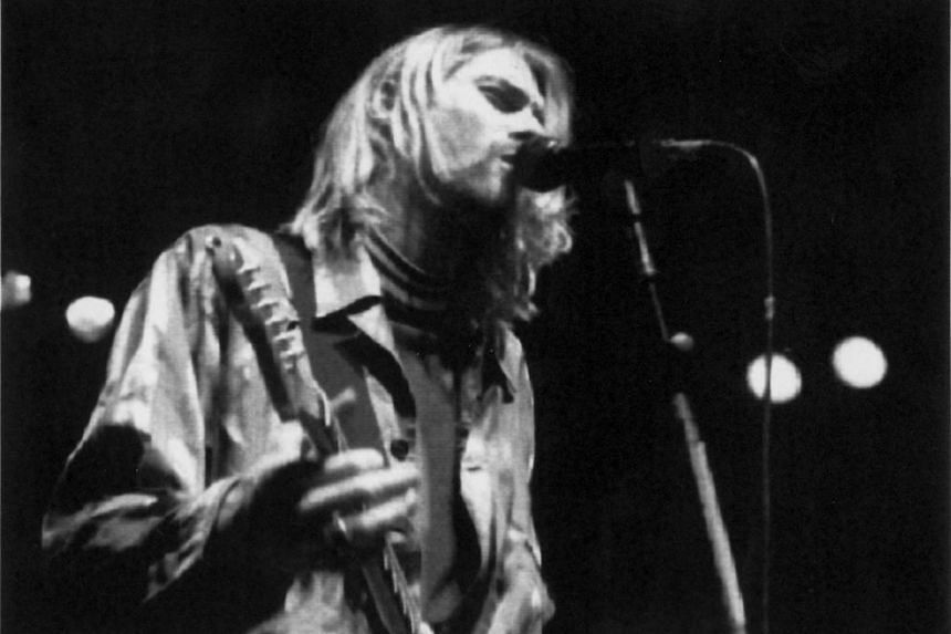 More than 100 early cassettes recorded by Cobain (above) were found by Montage of Heck filmmaker Brett Morgen.