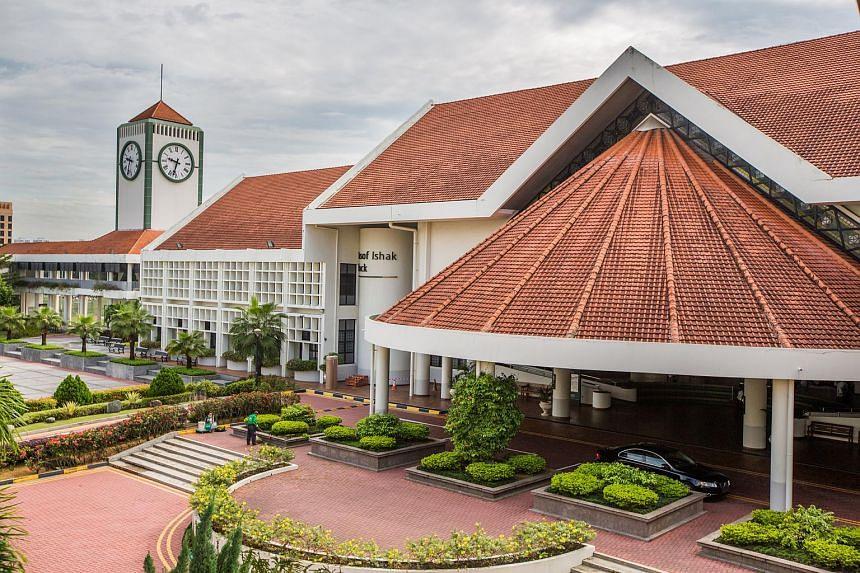 Raffles Institution in Bishan.