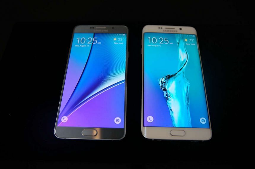 The Samsung Galaxy S6 edge+ (right) will go on sale from Aug 22, 2015.