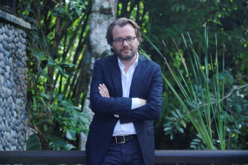 Mr Arnaud Jeanteur, general manager of The Body Shop International, says for every Oils Of Life product sold, a seed will be planted in the Cerro Blanco, the last dry forest in Ecuador.