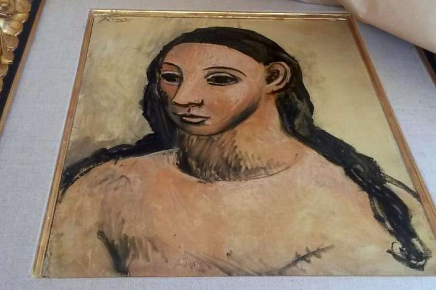 Head Of A Young Woman, painted in 1906, is considered a national treasure in Picasso's native Spain.