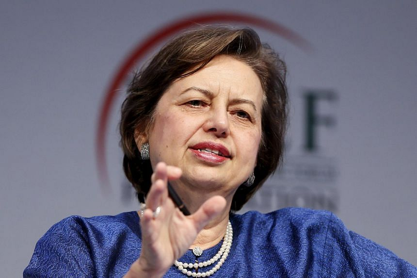 Malaysia's Central Bank Governor Zeti Akhtar Aziz speaks during the World Islamic Economic Forum in London on Oct 30, 2013.