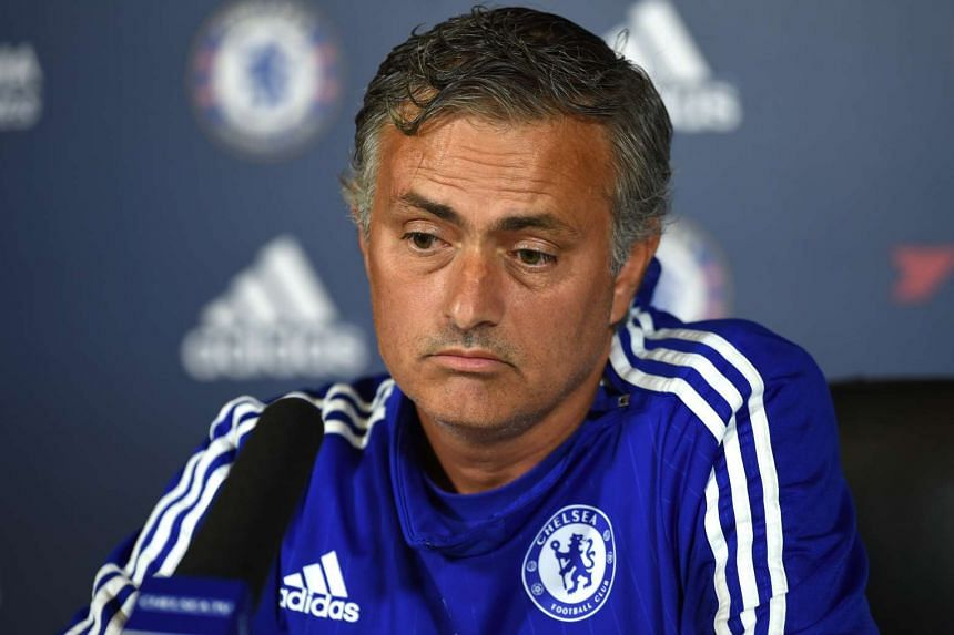 Chelsea manager Jose Mourinho during a press conference.