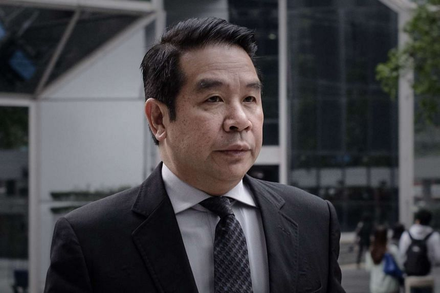 Birmingham City then-owner Carson Yeung arriving at the Wanchai district court in Hong Kong in this May 3, 2013 file photo.