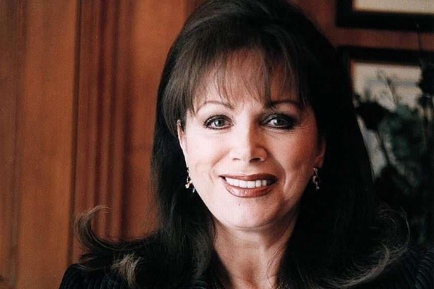 Author Jackie Collins.