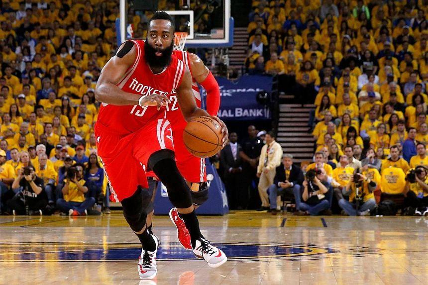 Houston Rockets star James Harden.