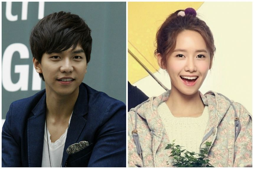 Singer-actor-host Lee Seung Gi (left) and Yoona of Girls' Generation.